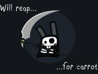 The Sims 4 Grim Bunny Wallpaper