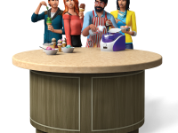 The Sims 4 Cool Kitchen Stuff Render