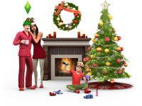 The Sims 4 Holiday Celebration Stuff Render