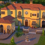 Sims 4 mansion