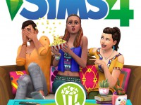 The Sims 4 Movie Hangout Stuff Boxart