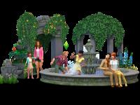 The Sims 4 Romantic Garden Stuff Render