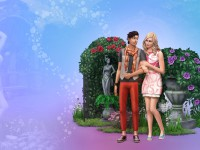 The Sims 4 Romantic Garden Stuff Wallpaper