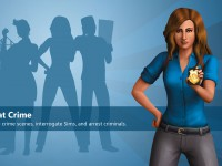 The Sims 4 Wallpaper Get To Work Police