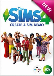 Create-a-Sim Demo Box Art