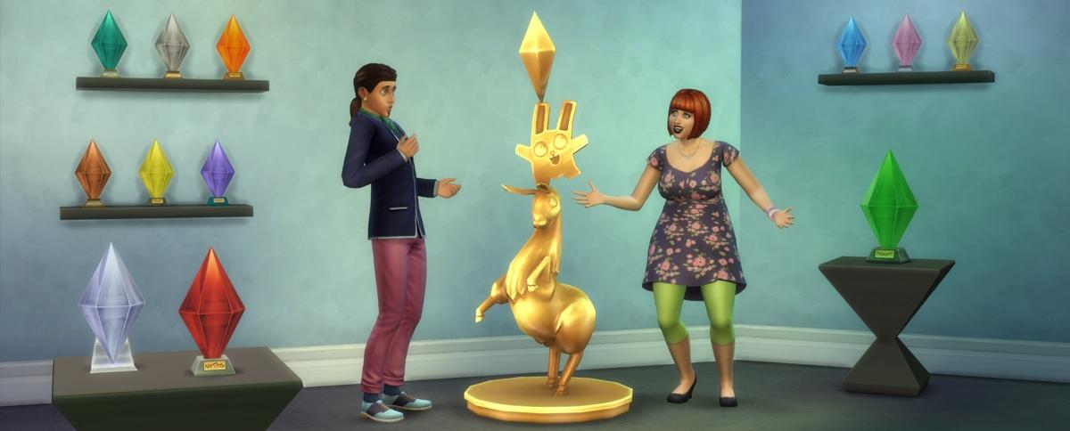 The Sims 4 Plumbob Lamp Rewards - Sims Online