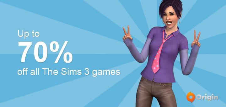 Origin Sale The Sims 3 games