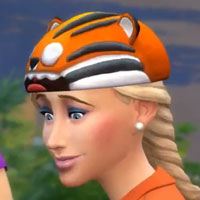The Sims 4 Collectors Edition Tiger Hat