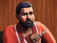 The Sims 4 Pancake Bob