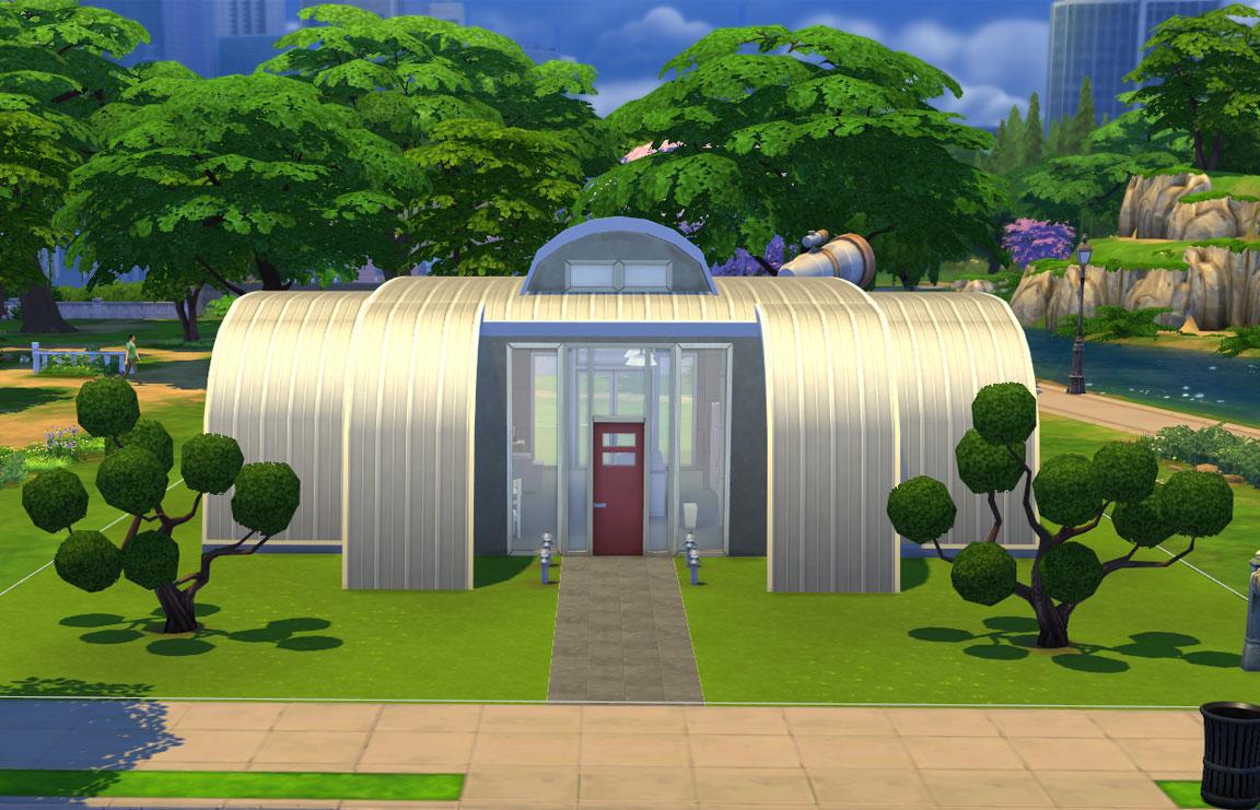 The Sims 4 Astronaut Starter
