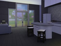 The Sims 4 Astronaut Starter Kitchen