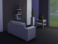 The Sims 4 Astronaut Starter Living Room