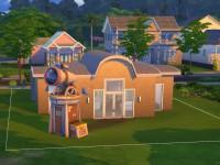 The Sims 4 Astronaut Starter Backyard Observatory