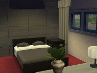 The Sims 4 Modern Starter Willows - Bedroom