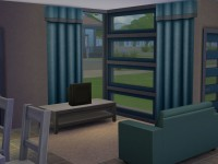 The Sims 4 Modern Starter Willows - Living Room