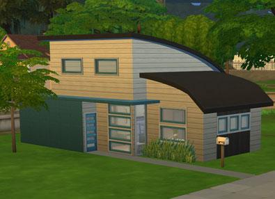 The Sims 4 Modern Starter - Willows