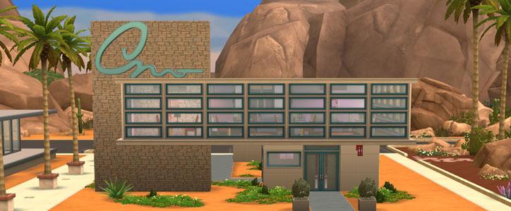 The Sims 4 Venue - Lounge