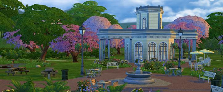 The Sims 4 Venue - Park