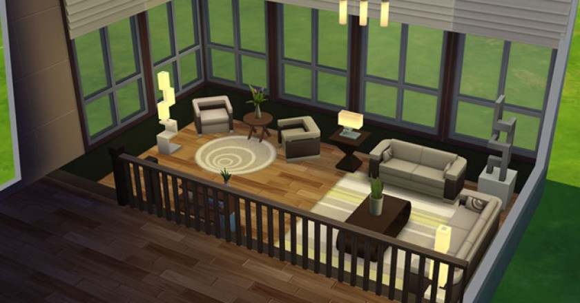 Turorial: Create Split Level Room in The Sims 4