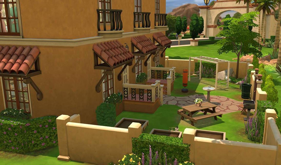 The Sims 4 Download Casa Martina Backyard