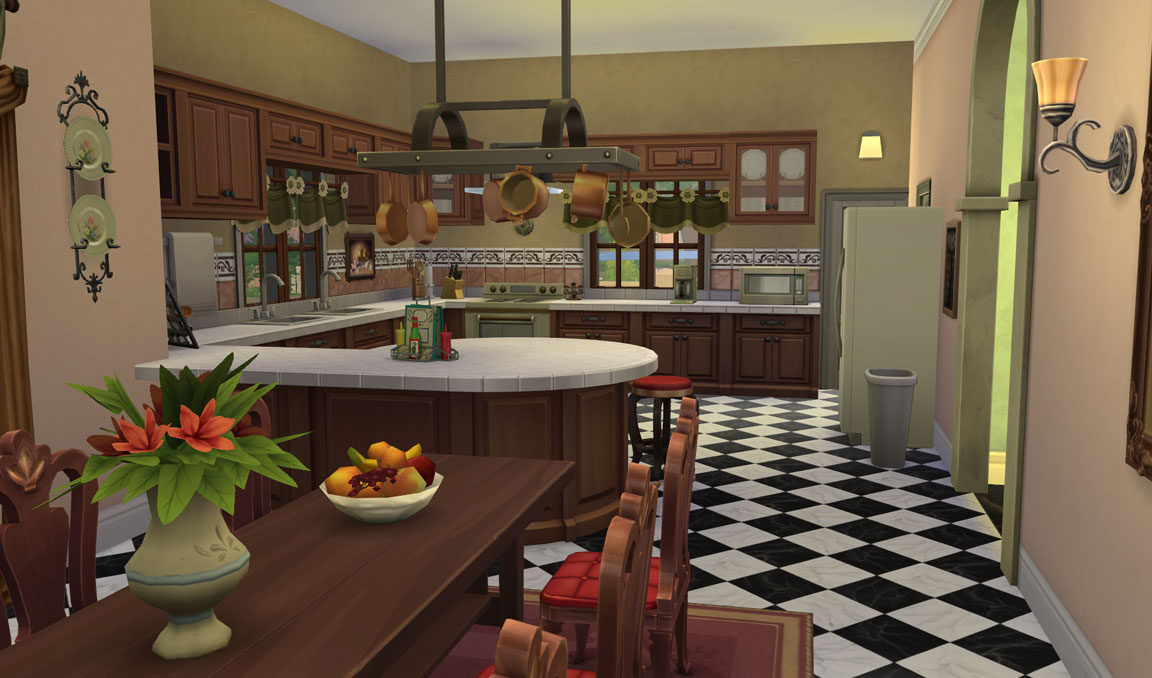 The Sims 4 Download Casa Martina Kitchen