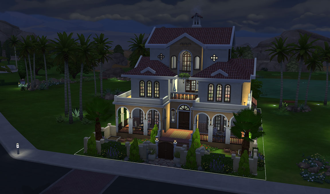 The Sims 4 Download Casa Martina Night