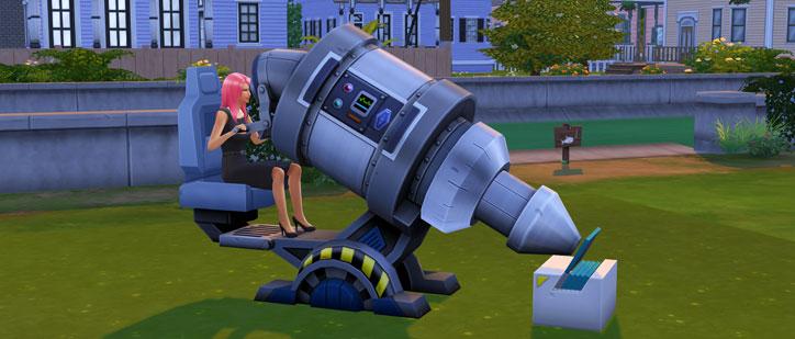 Logic Skill in The Sims 4 Microscope