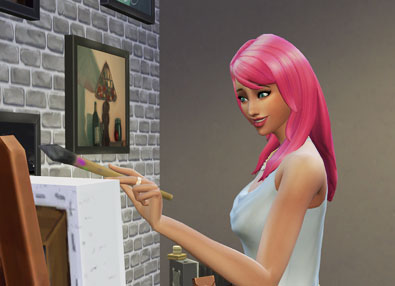 Painting Skill Guide - The Sims 4