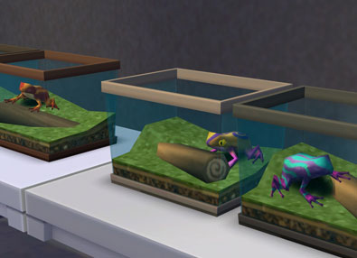 Frogs Collection Guide - Sims Online