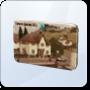 Champs les Sims Postcard