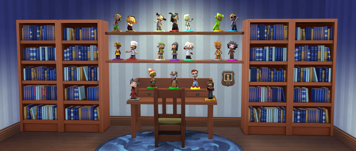 MySims Trophies Complete Collection