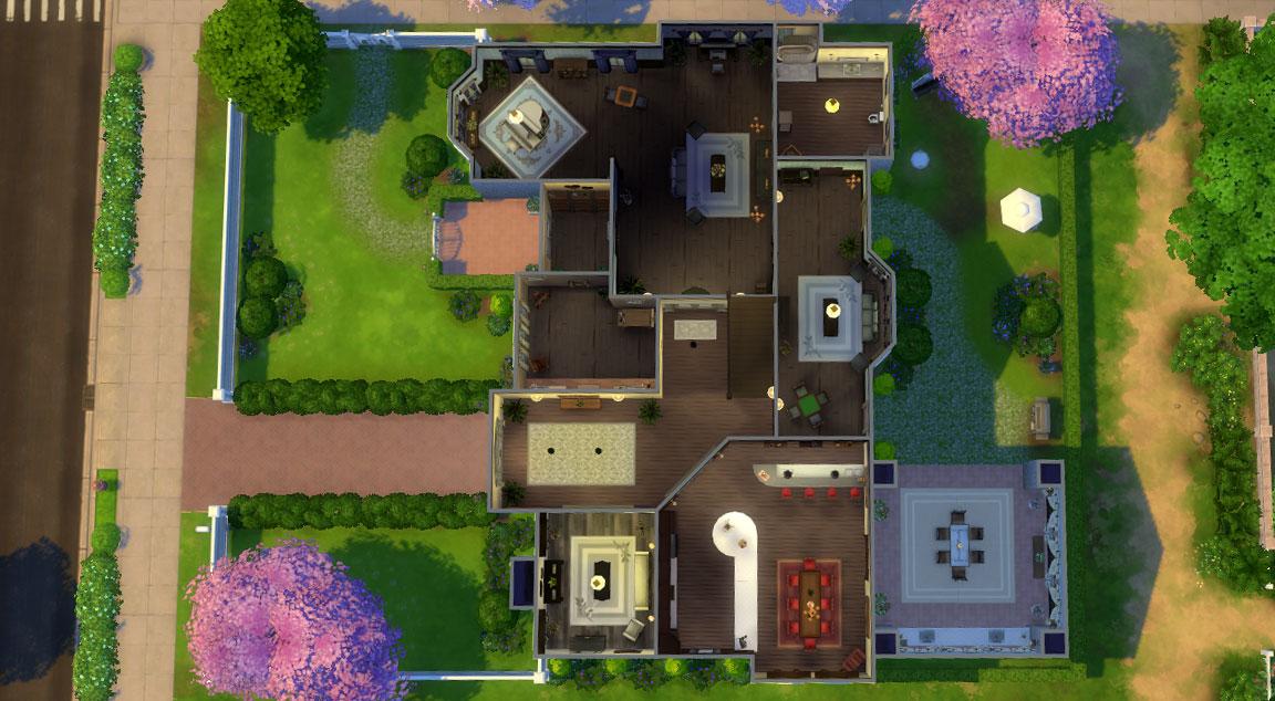 Valentine's Mansion Floorplan