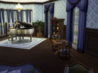 Valentines Mansion Living Room
