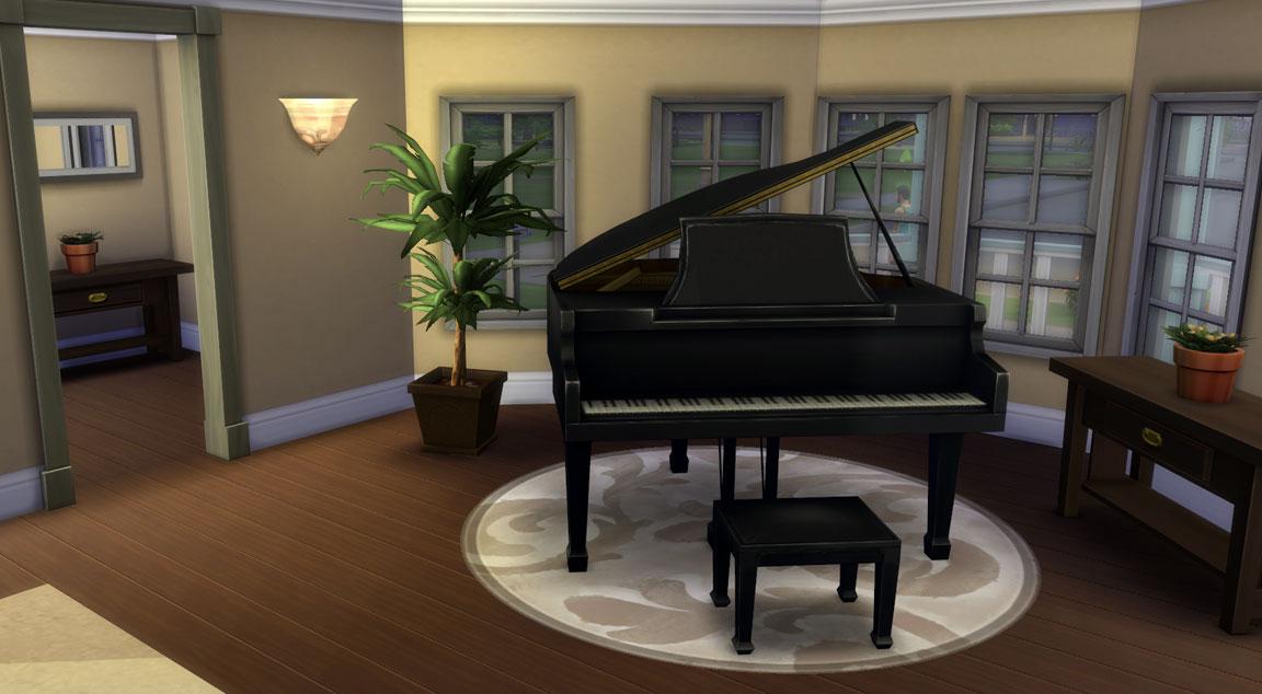 Sims  Modern Living Room