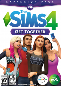 The Sims 4 Get Together Official Boxart