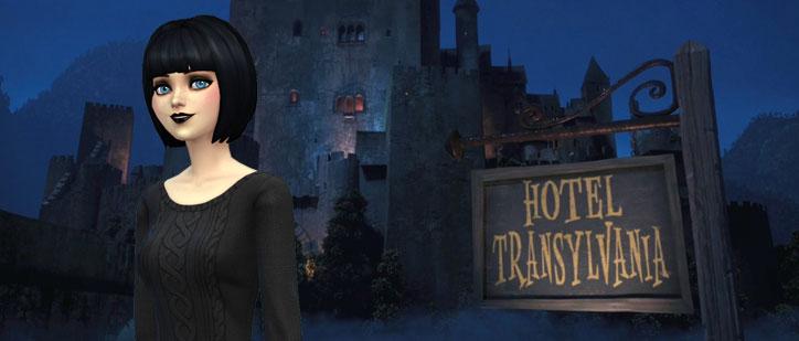 The Sims 4 Hotel Transylvania
