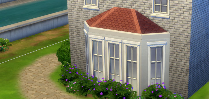 How To Create An Octagonal Roof In The Sims 4 Sims Online
