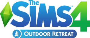 The Sims 4 Outdoor Retreat Official Logo