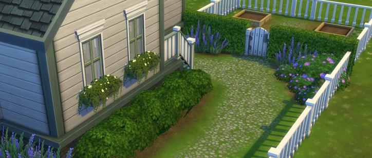 The Sims 4 Starter Home Budget Garden