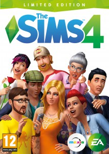 The Sims 4 Limited Edition Official Boxart