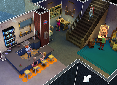 The Sims 4 Basement Patch