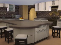 Golden Fantasy Castle Kitchen