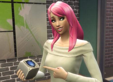 The Sims 4 Future Cube