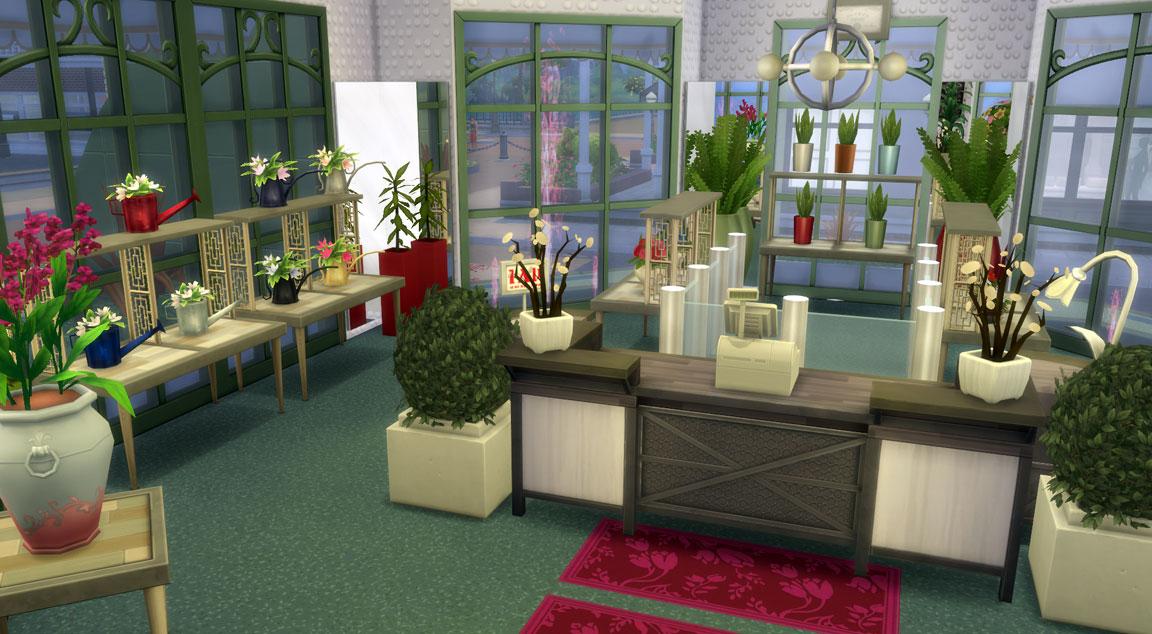 Download Alien Flower Store Sims Online
