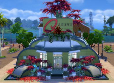 Alien Flower Store