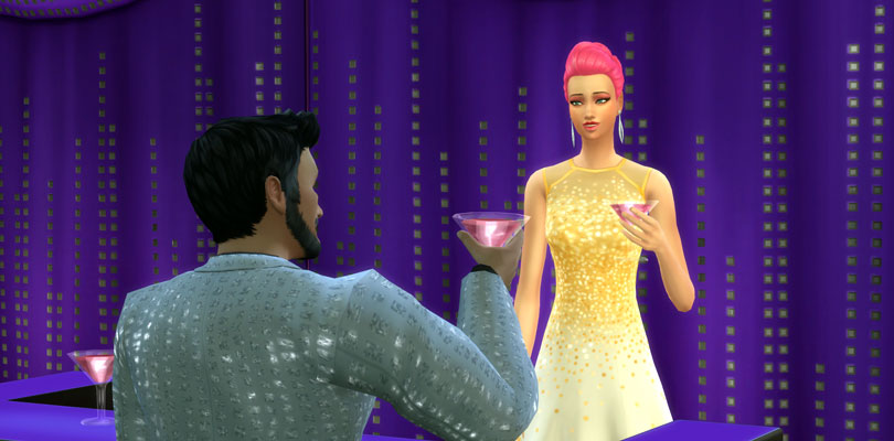 The Sims 4 Luxury Party Stuff Features