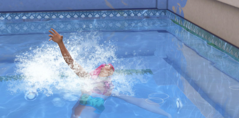 Death by Drowning in The Sims 4