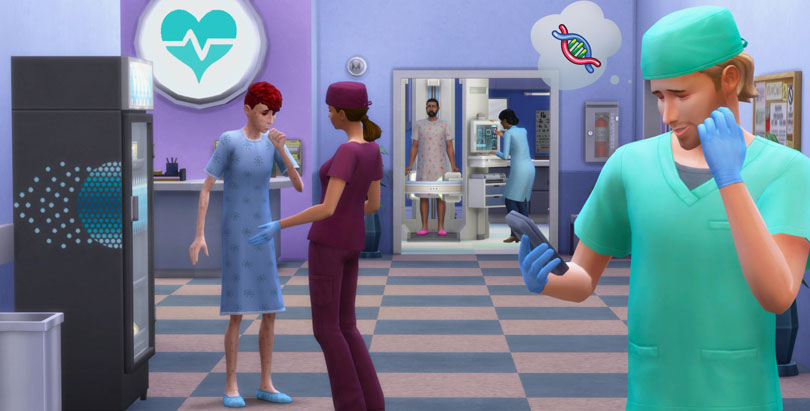 The Sims 4 Get to Work Screenshot