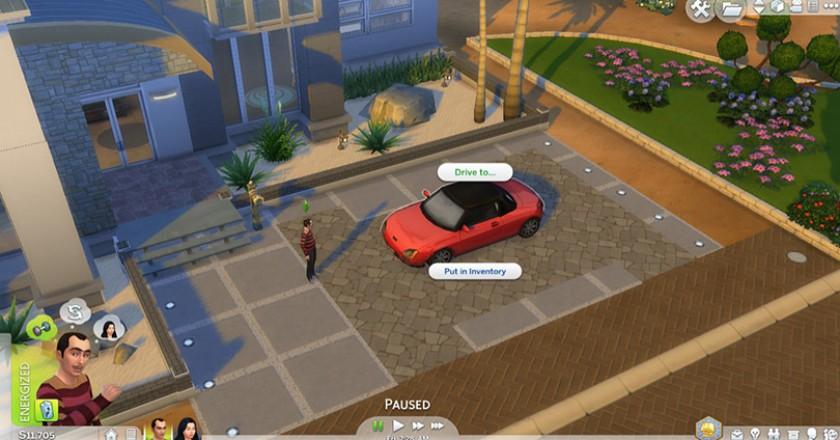 Sims 4 cars mod