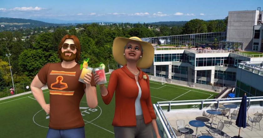 EA Canada Sims 4 playtest